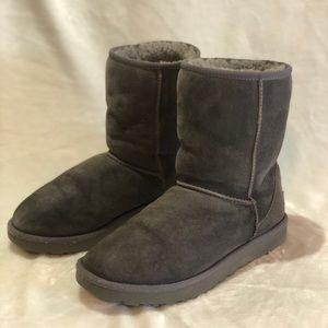 UGG Australia Classic Short II Boots - Gray